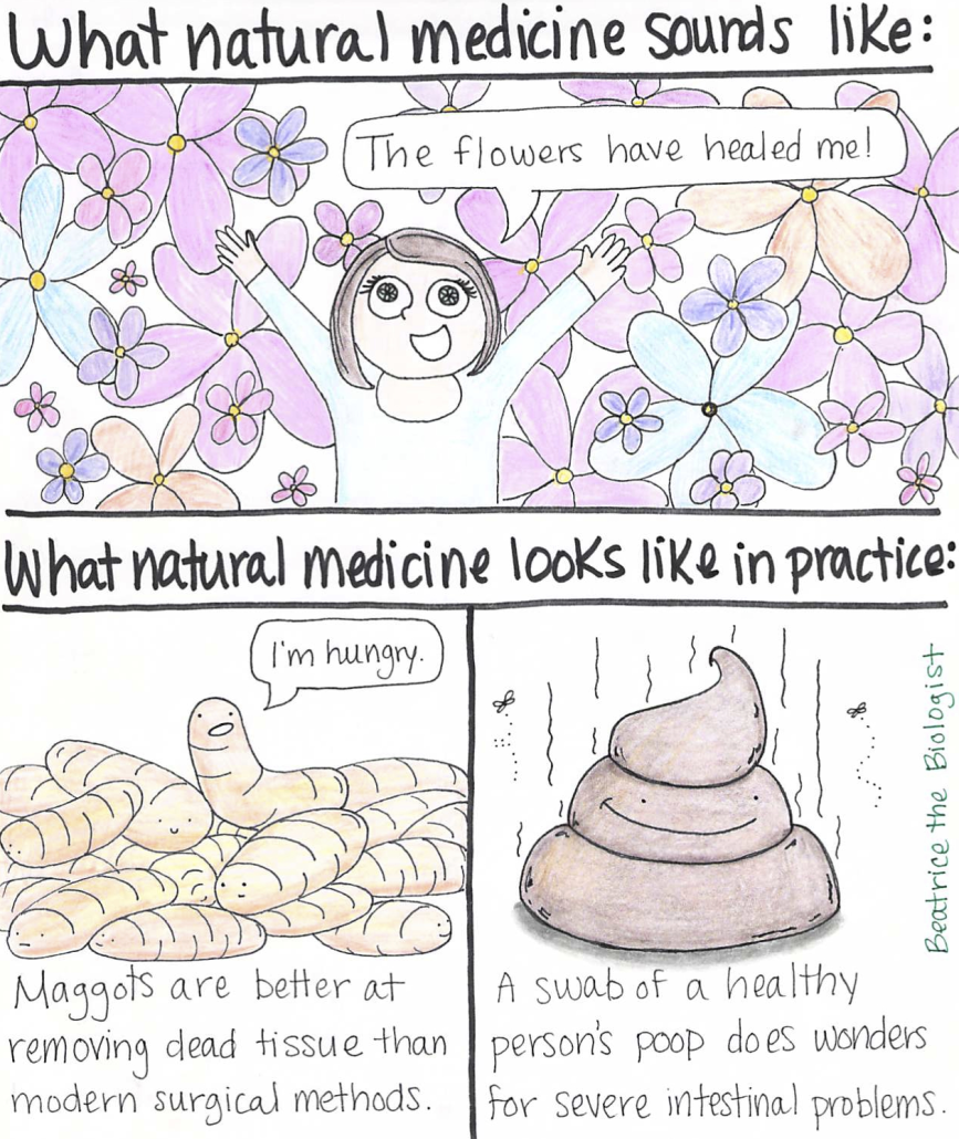 Natural Medicine - Beatrice the Biologist