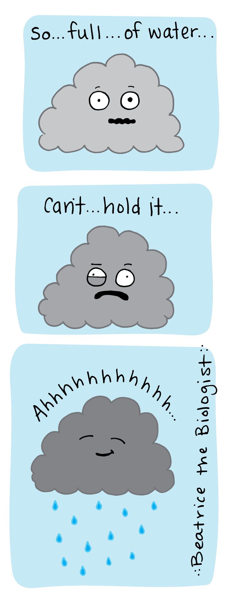 cloud pee